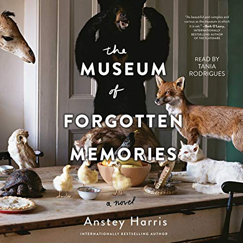 The Museum of Forgotten Memories Audiobook By Anstey Harris cover art