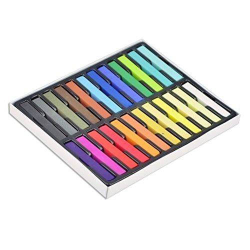 24 Colori Tinta Per Capelli Non-Permanente - Kit Salone by DELIAWINTERFEL
