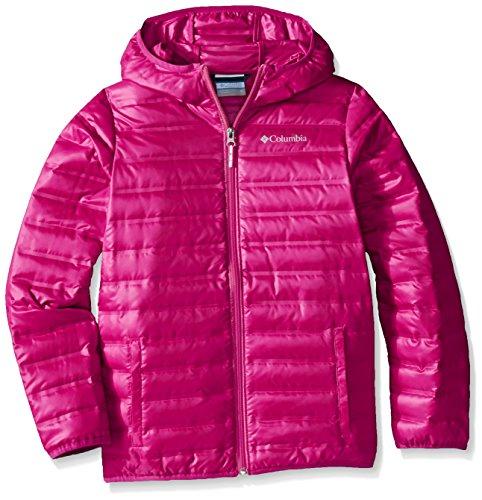 Columbia Flash Forward Hooded Down Jacket, Deep Blush, Large