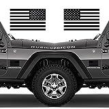 Classic Biker Gear 控えめなアメリカ国旗 タクティカルミリタリーフラッグ USAデカール ジープ5インチx3インチ CBG-STK-08-MB-1PK