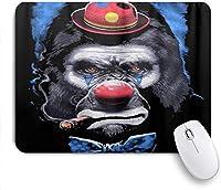 マウスパッド Mouse Pad Funny Hip Hop Freestyle Hipster Dog and Bear Mousepad Non-Slip Rubber Base for Computers Laptop