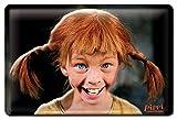 Logoshirt Pippi Langstrumpf Lacht Bleschilder Retro -