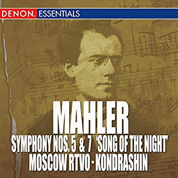 """Mahler: Symphony Nos. 5 & 7 \""""The Song Of The Night \"""""""