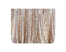 Beige Sequins Tablecloth