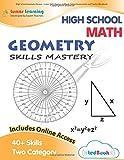 High School Geometry Review - Lumos Skills Mastery tedBook: Online Assessments and Practice Workbook