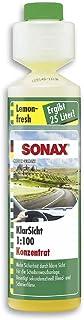 SONAX Nettoyant popur vitres (250 ml) concentré nettoyant hautement efficace met een parfum citron pour le lave-glace en é...