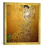 Gerahmtes Bild von Gustav Klimt Bildnis Adele Bloch-Bauer