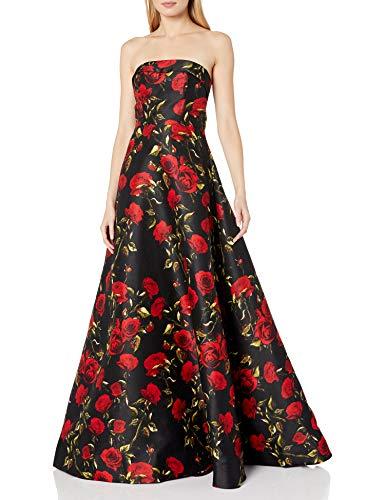 Mac Duggal - Vestido Largo para Mujer con Estampado Floral - Multi - 36