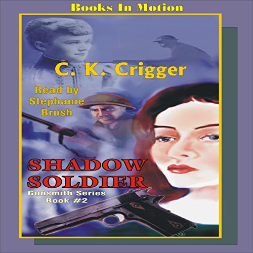 Shadow Soldier audiobook cover art