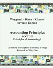 (WCS)Accounting Principles, 7th Edition for Acct 220 UMUC