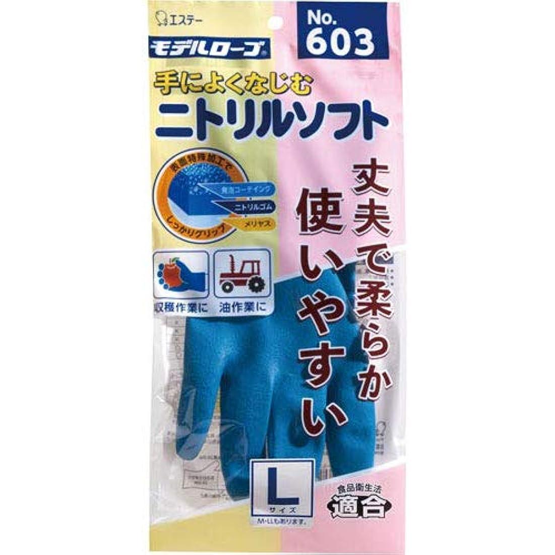 体ミッションカードモデルローブ ニトリルソフト No.603 L