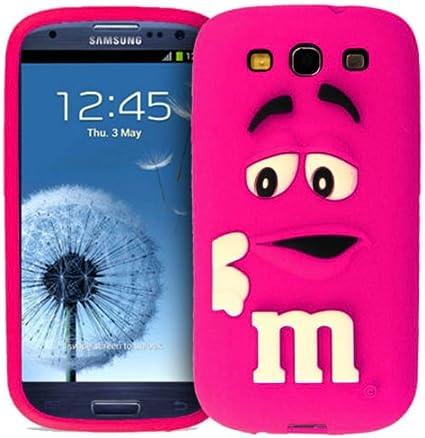 Fonezilla Coque en Silicone pour Samsung Galaxy S3 i9300 Motif M&M's 3D