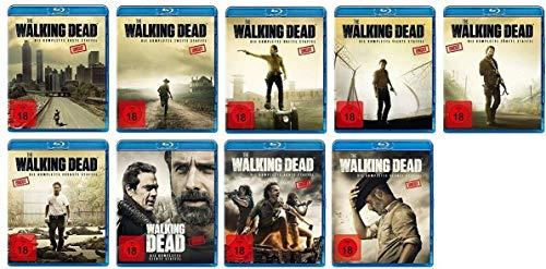 The Walking Dead Staffel 1-9 Uncut (1+2+3+4+5+6+7+8+9, 1 bis 9) [Blu-ray Set]