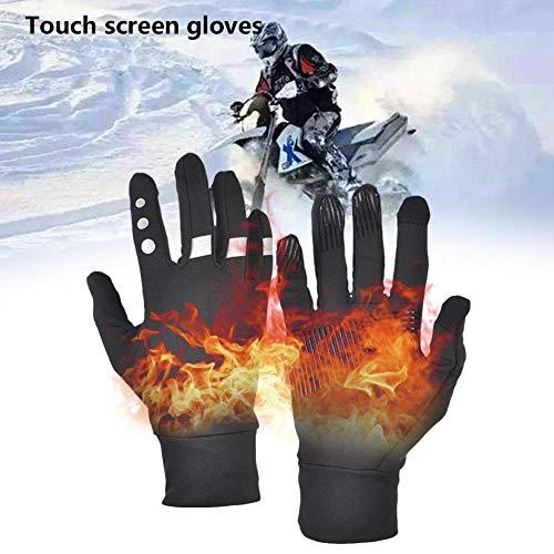 Touchscreen-handschoenen, 1 paar sporthandschoenen voor buiten, uniseks, winddicht, waterdicht, warm, voor auto, motorfiets, fiets, motorcross, combat, camping, hardlopen, wandelen
