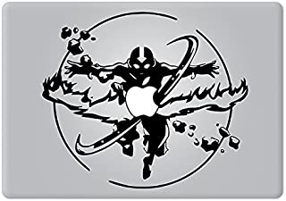 Avatar The Last Airbender Aang's Avatar State2 Apple Macbook Decal Vinyl Sticker Apple Mac Air Pro Retina Laptop sticker
