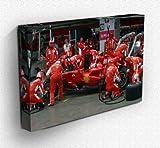 Von Canvas35Japan Kimi Räikkönen Pit Stop Formula One