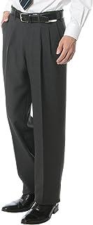 [サカゼン]PETER LUGER 春夏秋冬 オールシーズン スラックス メンズ ツータック ストレッチ ウォッシャブル 洗える ビジネス