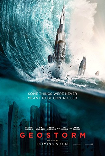 Poster Geostorm Movie 70 X 45 cm