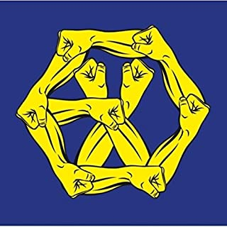 EXO - The War: The Power of Music [Korean ver.] (Vol.4 Repackage) CD+Official Folded Poster+Extra Photocard