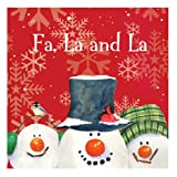Christmas Snowman Carols - Lunch Napkins (18) Party Supplies