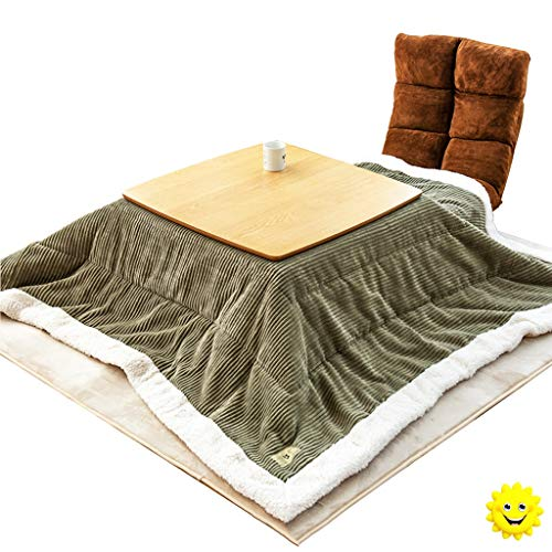Koffietafel winterverwarmd eettafel slaapkamer draagbare klaptafel woonkamer mini salontafel Corduroy Quilt Pad Group dedicated warme tafel quilt