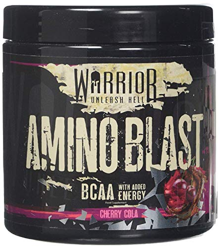 Warrior Amino Blast BCAA Powder Amino Acids 270g - Cherry Cola 30 Servings