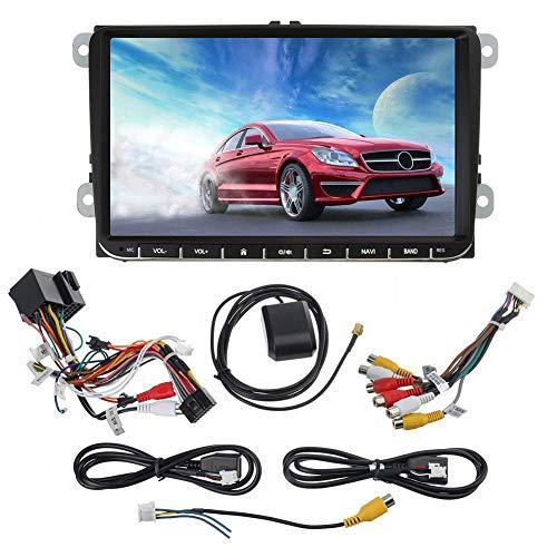 liuxi Android Auto-Navigation Stereo, Premium-Universalselbst Unterhaltung Multimedia Radio WiFi Tethering Internet für VW Golf 5 VI Variant Passat Touran