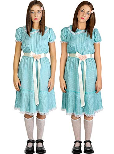 Funidelia | Disfraz de nia El Resplandor Oficial para Mujer Talla M The Shining, Pelculas de Miedo, Stephen King, Terror