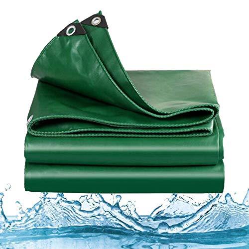 ZXHQ Lona Impermeables Resistente Espesado 4x6m, Pesado Lonas Impermeables, Lona con Ojales Pesado Durable ProteccióN FríO para Al Aire Libre Carpa del