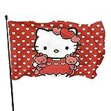 Hello Kitty Fahnen/Flagge/Gartenfahne/Dekorativer-Verf¨¹gbar In Allen Jahreszeiten?90 X 150 cm?.