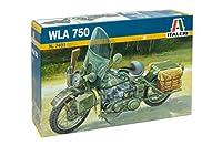イタレリ 7401 1/9 アメリカ軍オートバイWWII プラモデル