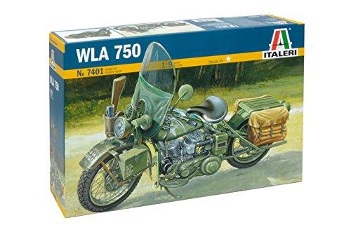 Italeri 7401 - U.S. Army Ww II Motorcycle Model Kit  Scala 1:9