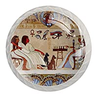 引き出しハンドルは装飾的なキャビネットのノブを引っ張る ドレッサー引き出しハンドル4個,エジプトの装飾