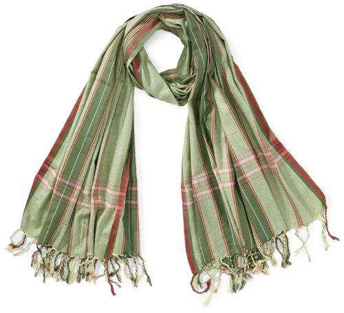 Kikoyland - Echarpe - SK229 - Mixte - Vert (Green) - One Size (Taille fabricant: one size (OS)