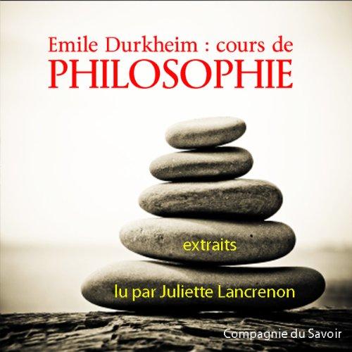 Couverture de Cours de philosophie