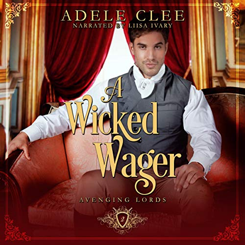 A Wicked Wager audiobook cover art