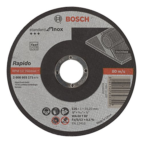 Bosch 2 608 603 171 - Disco de corte recto Standard for Inox
