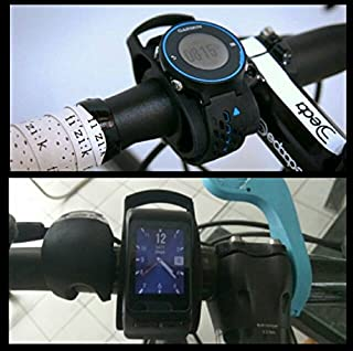 Shopping_Shop2000 Silicone Bicycle Handle Bar Watch Mount Holder For Sport Indoor Outdoor Cycling For Garmin Forerunner Fenix And Other Fitness Running GPS Watches