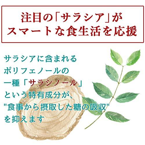 糖カロセーブ[サラシアサプリ/DMJえがお生活]血糖値下げるサプリメントサラシア粒(機能性表示食品)日本製31日分