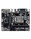 SXGKY Placa Base de Escritorio Placa Base Fit For GIGABYTE GA-H110M-DS2 H110 LGA 1151 i3 i5 i7 DDR3 32G
