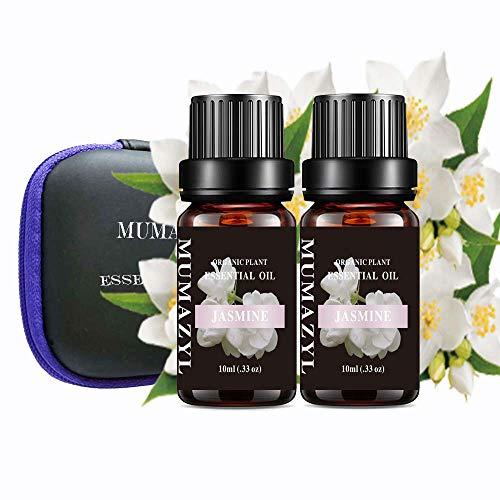 Jasmine Essential Oil Set Organic Plant Natural 100% Pure...