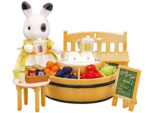 SYLVANIAN FAMILIES 2792 -Juguete de Puesto de Fruta de la Madre Conejo