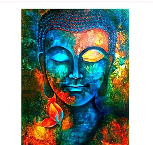 1000 piezas de rompecabezas, imagen colorida de Buda, rompecabezas de ocio y entretenimiento para adultos, juguete educativo para niños, decoración del hogar diy