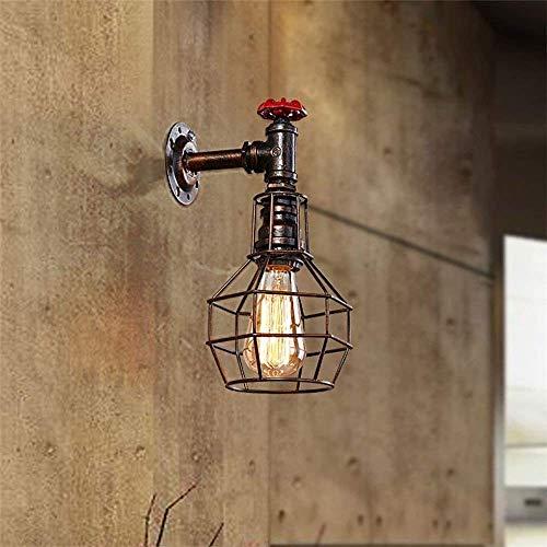 XUMINGBD wandlamp voor keuken, industrieel, bar, café, restaurant, wandlamp, E27