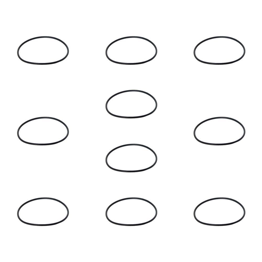 Othmro Nitrile Rubber O-Rings 8mm OD 5mm ID 1.5mm Width Metric Buna-N Sealing Gasket Black Color 10PCS