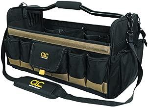 CLC Custom Leathercraft 1579 20 Inch, Open Top, Soft Sided Tool Box, 27 Pockets