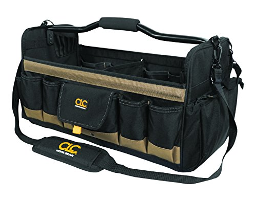 CLC Custom Leathercraft 1579 20 Inch, Open Top, Soft Sided Tool Box,...