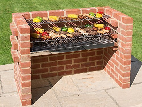 BLACK KNIGHT BARBECUES BKB 804 112 x 39 cm XL Barbecue kit – en Acier Inoxydable