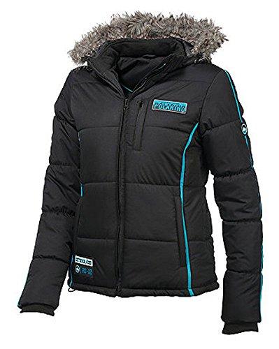 Polarino Damen Skijacke Jacke (Schwarz, 40)