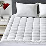 INGALIK Mattress Pad Twin XL Size Cotton Mattress Topper Cooling Mattress Pad Cover Pillow Top (8-21Inch Deep Pocket Down Alternative)